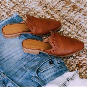 Shoes - ✨RESTOCKED✨Cognac Brown Mules